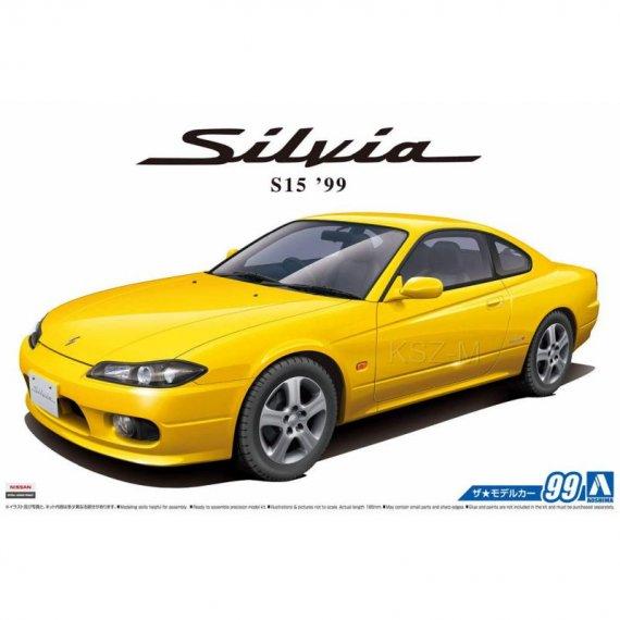 Aoshima 05679 - Nissan S15 Silvia Spec.R '99