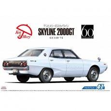 Aoshima 05348 - Nissan GC110 Skyline 2000GT '72