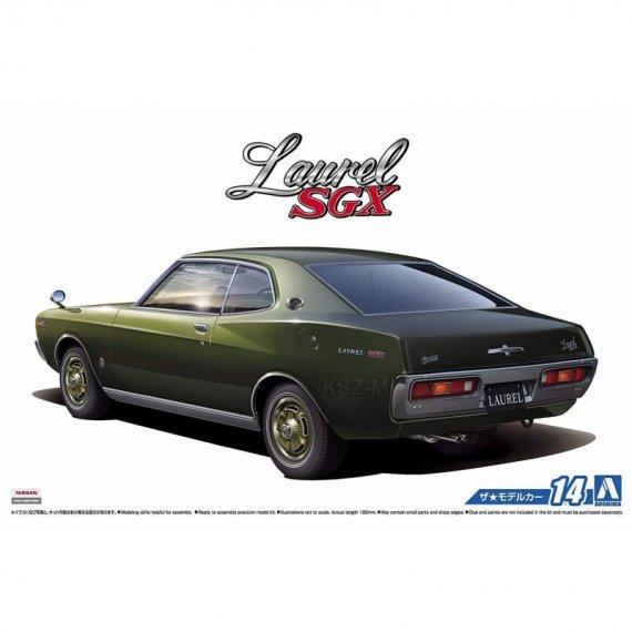 Aoshima 05211 - Nissan KHC130 Laurel SGX HT '75