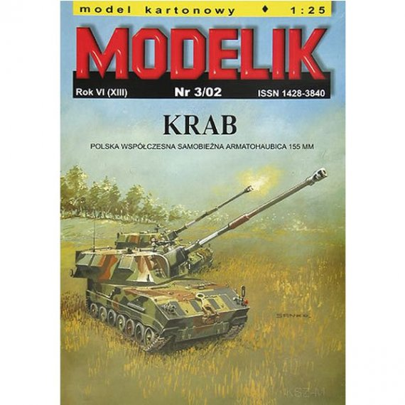 Modelik 3/02 - Polska armatohaubica KRAB