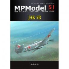 MPModel 51 - Samolot Jak-9B