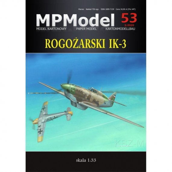 MPModel 53 - Rogozarski IK-3