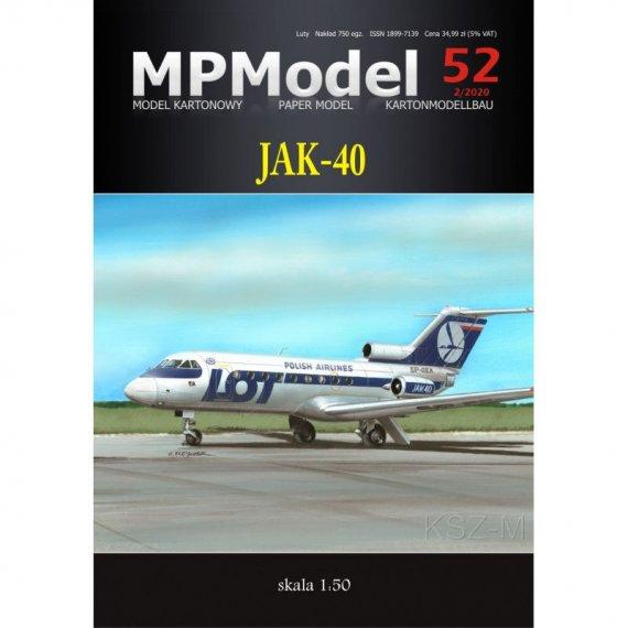 MPModel 52 - Jak-40 PLL LOT