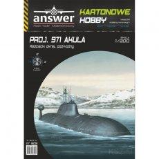 Answer 505 - Okręt podwodny Projekt 971 Akula