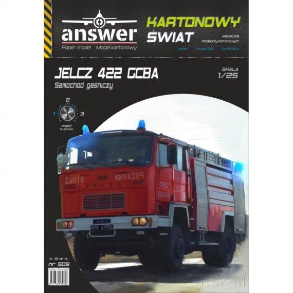 Answer 509 - Jelcz 422 GCBA