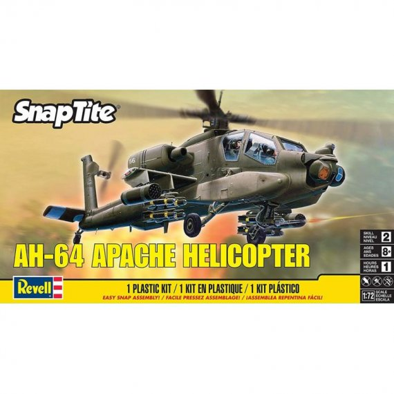 MONOGRAM 85-1183 - AH-64 Apache (SnapTite)