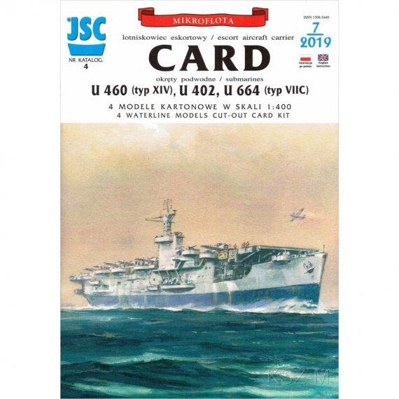 JSC-004 - Amerykanski lotniskowiec CARD