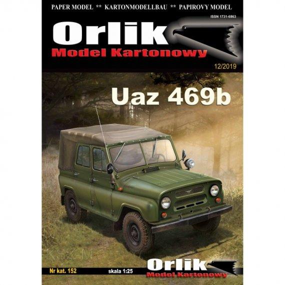 Orlik 152 - UAZ-469b samochód terenowy