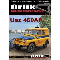 Orlik 153 - UAZ-469AP samochód terenowy