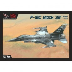 F-16C Block 32 - MS Model 001