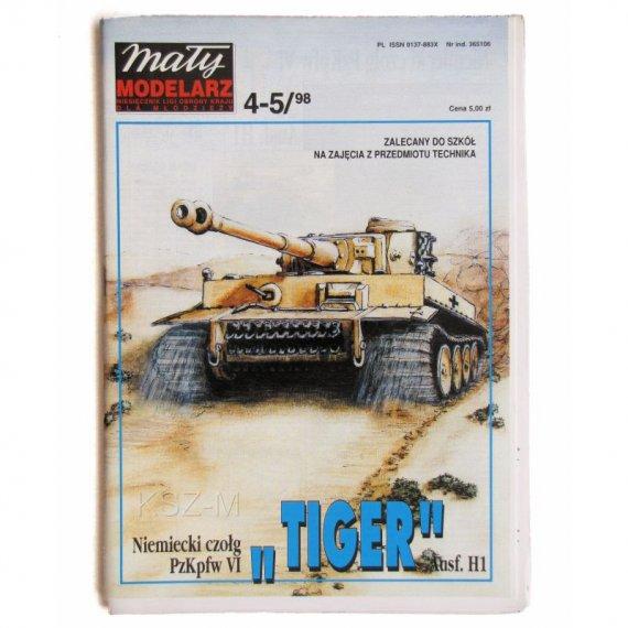 Czołg TIGER Ausf. H1 - Mały Modelarz 4-5/98