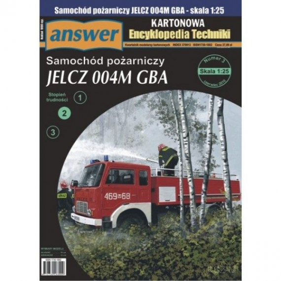 Answer 3/10 Samochód JELCZ 004M GBA