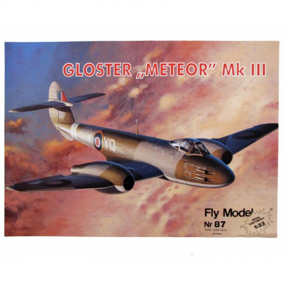 Gloster Meteor Mk. III - Fly Model 87