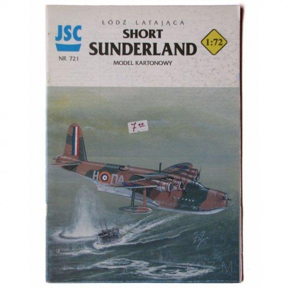 Short SUNDERLAND  - JSC-722