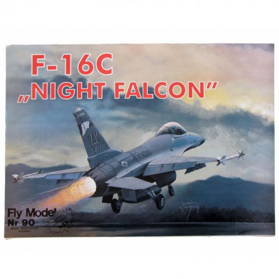 F-16 C NIGHT FALCON - Fly Model 90