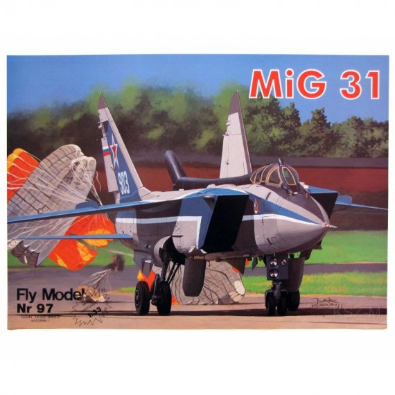 MIG-31 FOXHOUND - Fly Model 97