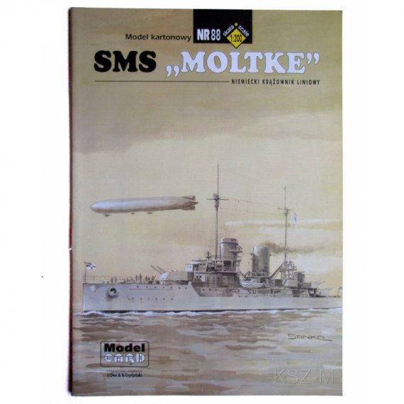 Krążownik SMS Moltke - Model Card 88