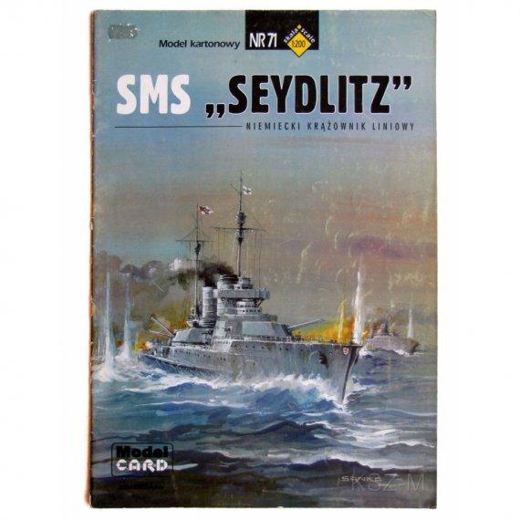 Krążownik SMS Seydlitz - Model Card 71