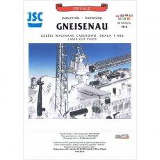 Laser do JSC-072 Niemiecki pancernik GNEISENAU
