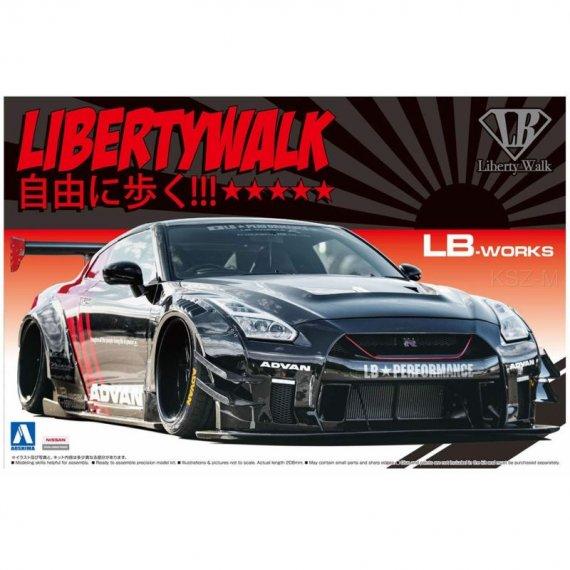 LB WORKS R35 GT-R type 2 Ver.2 - Aoshima 05592