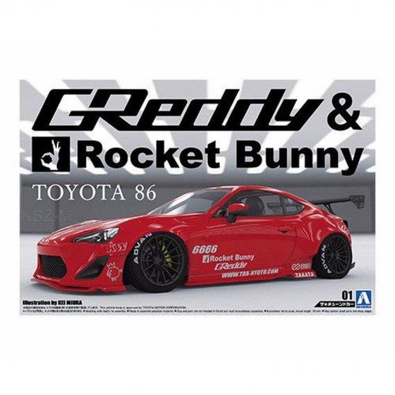 Toyota 86 '12 Greddy/Rocket Bunny - Aoshima 05093