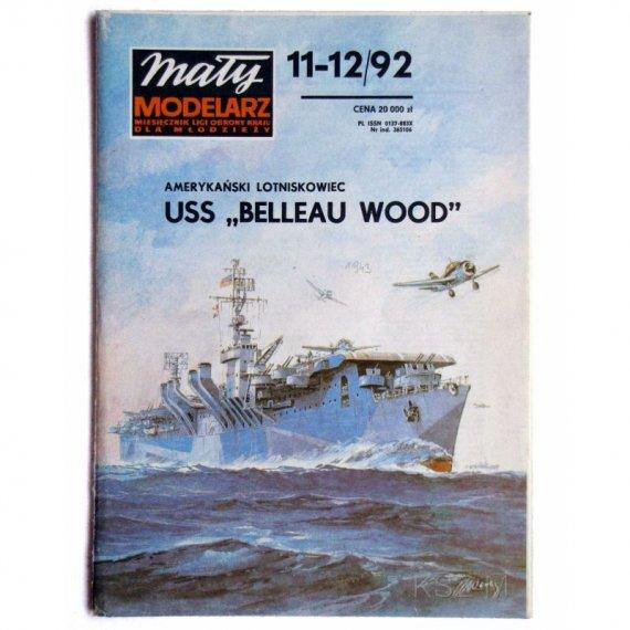 USS Belleau Wood - Mały Modelarz 11-12/92