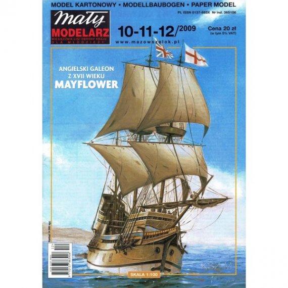 Mały Modelarz 10-11-12/09 Galeon Mayflower