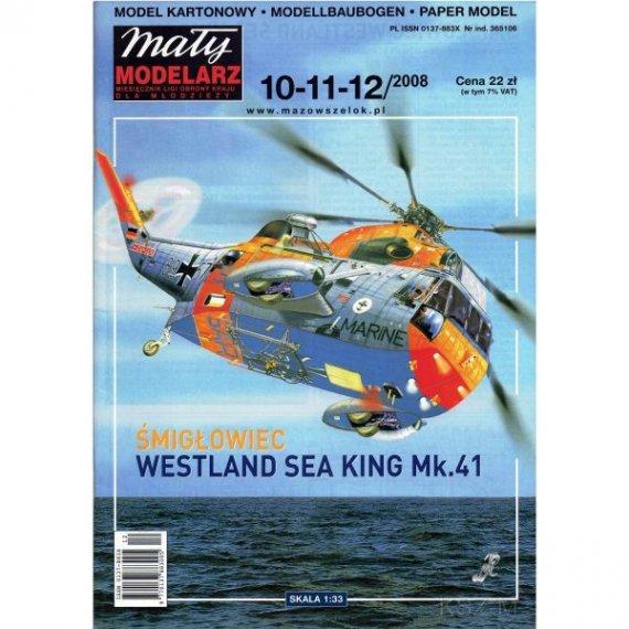 Mały Modelarz 10-11-12/08 Śmigłowiec Sea King