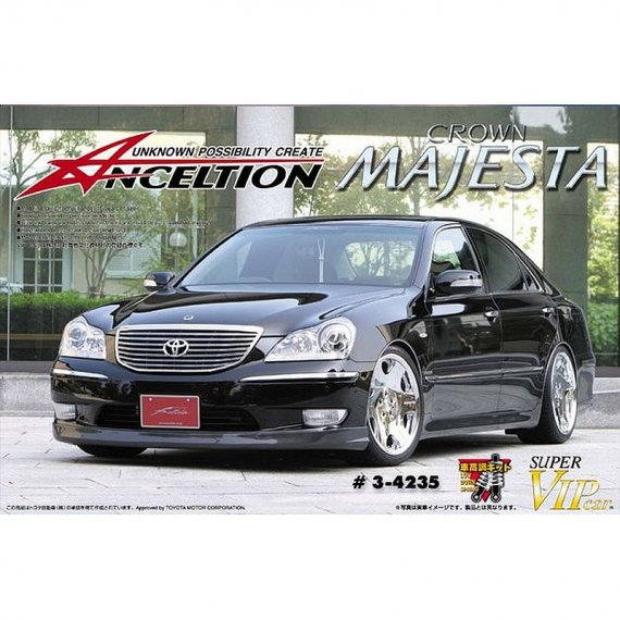 Anceltion 18 Crown Majesta '04 Toyota - Aoshima 04235