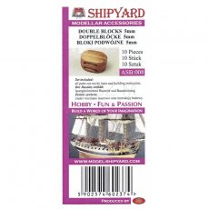 Bloki podwójne 5 mm (10 sztuk) - Shipyard