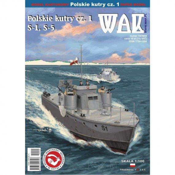 Polskie kutry cz. 1 (S-1, S-52) - WAK 10/19