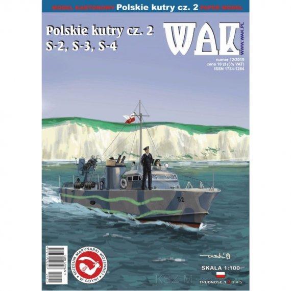 Polskie kutry cz. 2 (S-2, S-3, S-4) - WAK 12/19