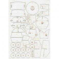 Szkielet do czołgu Crusader III - Modelik 25/05