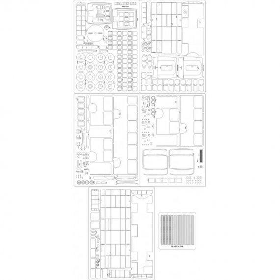 Szkielet, detale do Ikarus 280 - Angraf 6/17