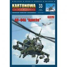 AH-64A Apache - Kartonowa Kolekcja 33