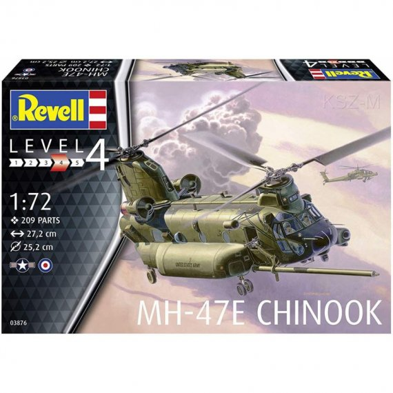MH-47E Chinook - REVELL 03876