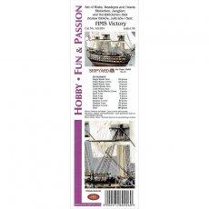 Komplet bloków do HMS Victory - Shipyard 67