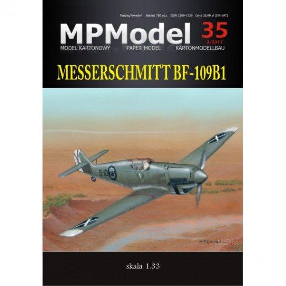 MPModel 35 - Samolot Messerschmitt Bf-109 B1