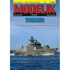 TORNIO - Fiński okręt rakietowy - Modelik 9/16