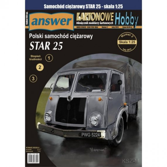 Answer 4/13 STAR 25 - polski samochód ciężarowy
