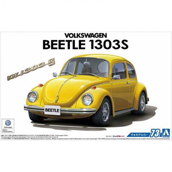 Volkswagen 13AD Beetle 1303S '73 - Aoshima 05552