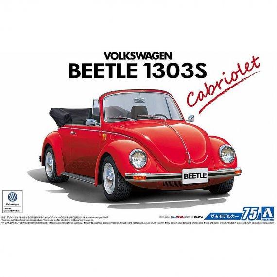 Volkswagen Beetle 1303S Cabriolet - Aoshima 05572