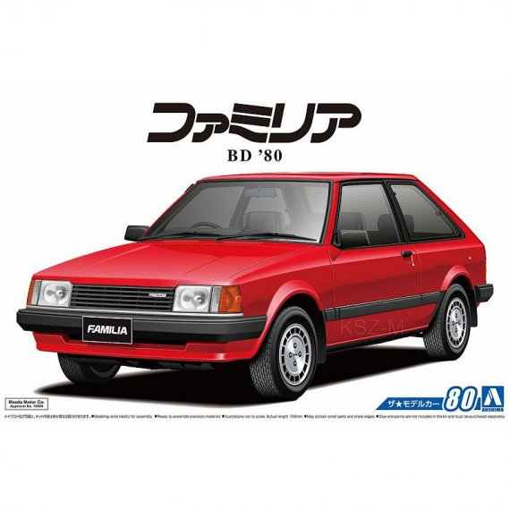 Aoshima 05589 - Mazda BD Familia XG '80