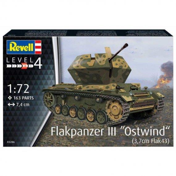 Flakpanzer III Ostwind 3,7 cm Flak 43 - REVELL 03286