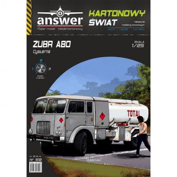 Samochód Żubr A80 cysterna - Answer 512
