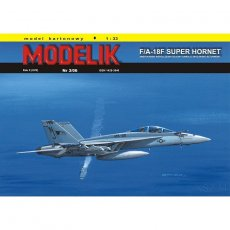 F/A-18F Super Hornet - Modelik 3/06