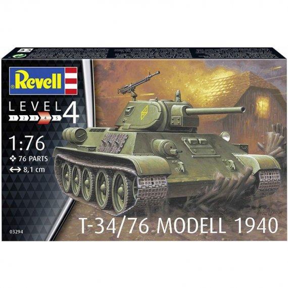 T-34/76 Modell 1940 - REVELL 03294