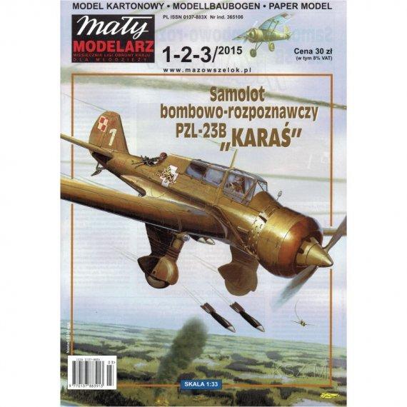 PZL-23 B Karaś - Mały Modelarz 1-2-3/15