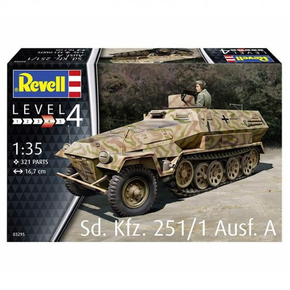 Sd.Kfz. 251/1 Ausf.A - REVELL 03295