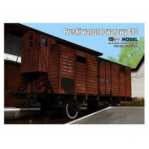 Pruski wagon kryty G10 - Angraf 11/16